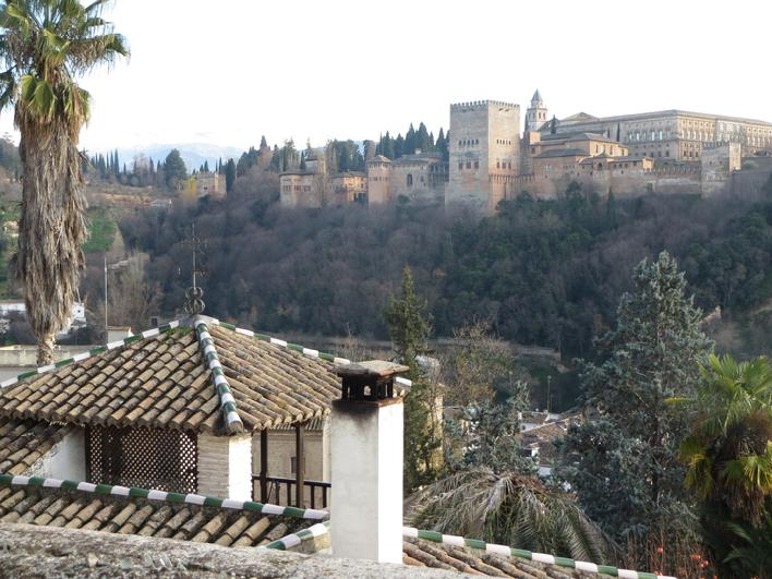View on the Alhambra